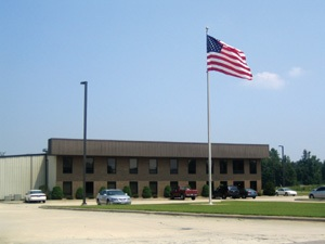 Ossid office building in Rocky Mount, North Carolina