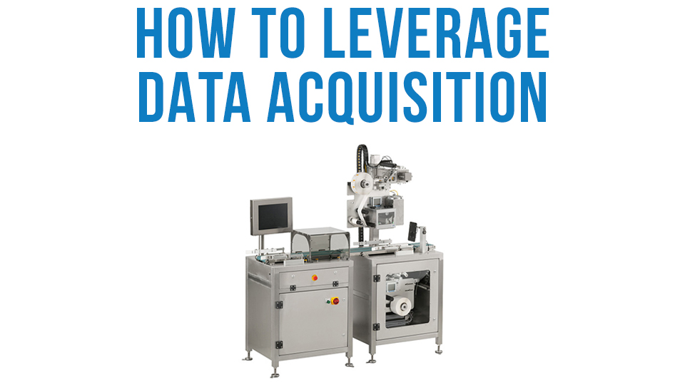 Weigh Price Labeler Leverage Data Acquistion